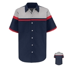 Red Kap SP24AC Performance Technician Shirt - Black