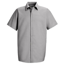 Red Kap SP26 Short Sleeve Specialized Pocketless Work Shirt