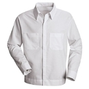 Red Kap SP35WH Shirt Jac - Long Sleeve Poplin - White