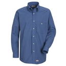 Red Kap SP74 Long Sleeve Mini-Plaid Uniform Shirt