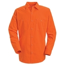 Red Kap SS14-1 Long Sleeve Enahanced Visibility Work Shirt