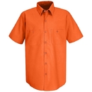 Red Kap SS24-1 Short Sleeve Enahanced Visibility Work Shirt