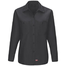 Red Kap SX11BK Women's Long Sleeve Mimix™ Work Shirt - SX11