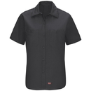 Red Kap SX21BK Women's Short Sleeve Mimix™ Work Shirt - SX21