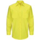 Red Kap SY14YE Enhanced Visibility Ripstop Workshirt