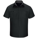 Red Kap SY42BC Men'S Performance Plus Shop Shirt With Oilblok Technology Short Sleeve Sy42