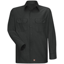 Red Kap Long Sleeve Men'S Solid Ripstop Shirt - Sy50