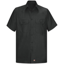 Red Kap Short Sleeve Men'S Solid Ripstop Shirt - Sy60