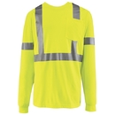 Red Kap SYK2HV Long Sleeve Hi-Visibility T-Shirt - Yellow