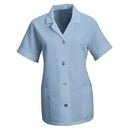Red Kap TP23 Women's Loose Fit Button Smock - Short Sleeve