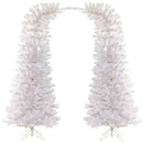Vickerman A172476LED 7.5' x 38'' Wht Whims DuraLit 1000WW 2Pc