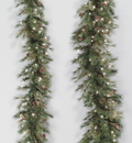 Vickerman A801708 6' Mixed Country Pine Swag Garland 180T