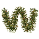 Vickerman A801709LED 6' Mixed Country Garland 180T 50WmLED