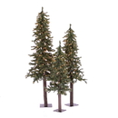 Vickerman A805184LED 4' 5' 6' Natural Alpine Set 450WWLED