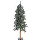 Vickerman B907310 4' 5' 6' Natural Bark Alpine Tree Set