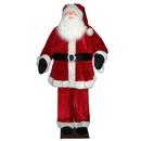 Vickerman C896010 6' Red Velvet Standing or Sitting Santa