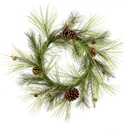 Vickerman Larkspur Pine Wreath