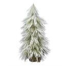 Vickerman D186030 3' Flocked Coutler Pine Tree Burlap Base