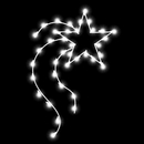 Vickerman D493043 4' Designer Star 35 C7LED Pole Deco