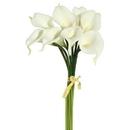 Vickerman 14'' White Calla Lily Bundle 8/Bundle