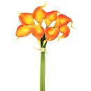 Vickerman FD170303 14'' Orange Calla Lily 8/Bundle