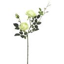 Vickerman FD170704 31'' Rose Spray-Green/White (Pk/3)