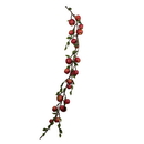 Vickerman FK171601 5' Green/Red Country Apples Garland
