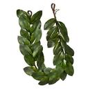 Vickerman FQ190412 5' Green Magnolia Leaf Garland