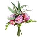 Vickerman FS190601 14'' Purple Peony Bouquet 2/Pk