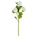 Vickerman FS190711 23.5'' White Ball Flower Spray 2/Pk