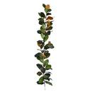 Vickerman FT190112 6' Green Magnolia Garland
