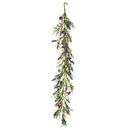 Vickerman FY194060 5' Purple Lilac Wild Flower Garland