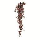 Vickerman FZ190572 6' Burgundy Grape Leaf Hanging Bush