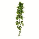 Vickerman FZ190772 6' Green Pothos Leaf Hanging Bush