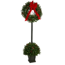 Vickerman G174018LED 6.5' Pine Lantern Dura-Lit LED 100WW