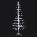Vickerman G183041LED 4' Crystal Drop Tree 4MM 250PureWht LED