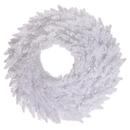 Vickerman White Fir Wreath 210T