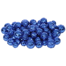 Vickerman L132202 20-25-30MM Blue Glitt Ball 72/Bag