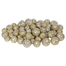 Vickerman L132211 20-25-30MM Champagne Glitt Ball 72/Bag