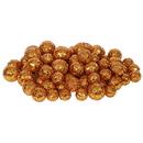 Vickerman L132218 20-25-30MM Burn Orange Glitt Ball 72/Bag