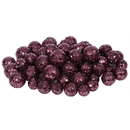Vickerman L132220 20-25-30MM Mauve Glitt Ball 72/Bag