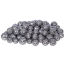 Vickerman L132237 20-25-30MM Pewter Glitt Ball 72/Bag