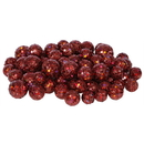 Vickerman L132263 20-25-30MM Wine Glitt Ball 72/Bag