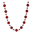 Vickerman M110827 6' Red-White Ball Garland 70/30Mm Balls