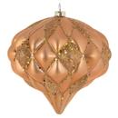 Vickerman M112248 5.7'' Sand Gold Matte-Glitter Diamond