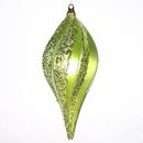 Vickerman M1325LM 8'' Lime Candy Glitter Swirl Drop