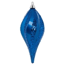 Vickerman M132602 12'' Blue Candy Glitter Swirl Drop