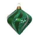 Vickerman M133204 6'' Green Candy Glitter Swirl Diamond