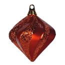 Vickerman M133218 6'' Burn Org Candy Glitter Swirl Diamond