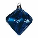 Vickerman M133262 6'' Sea Blue Candy Glitter Swirl Diamond